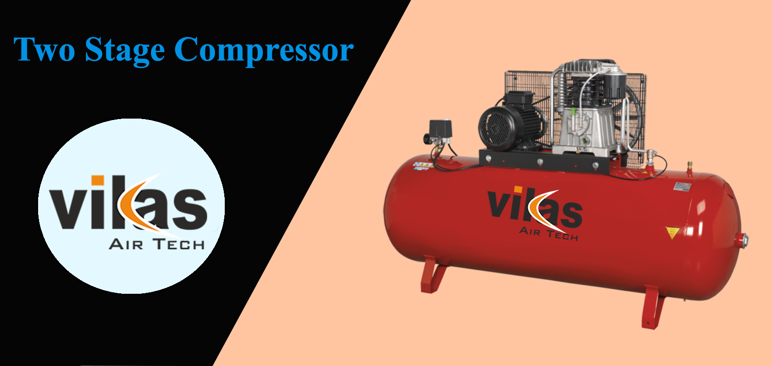 Two Stage Compressor, Air Compressor Spares in India, Air Compressor Spare in Ahmedabad, Air Compressor Spare in Gujarat